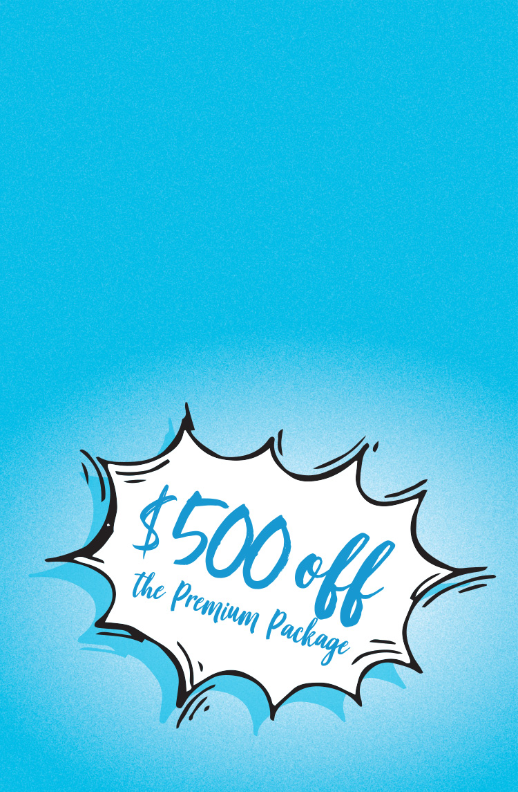 Enjoy $500 off our Premium LASIK Package